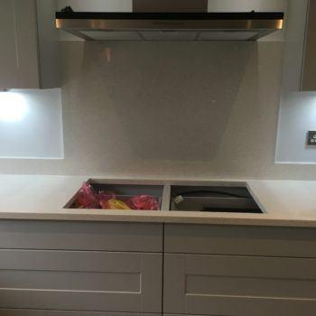 Cream Kitchen Quartz Worktops