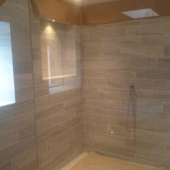 Wet rooms tiles