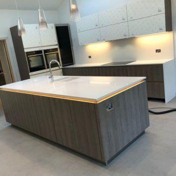 Quartz Kitchen Worktops